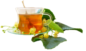 Herbal Tea with Leaves