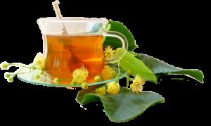 Herbal Tea with Leaves