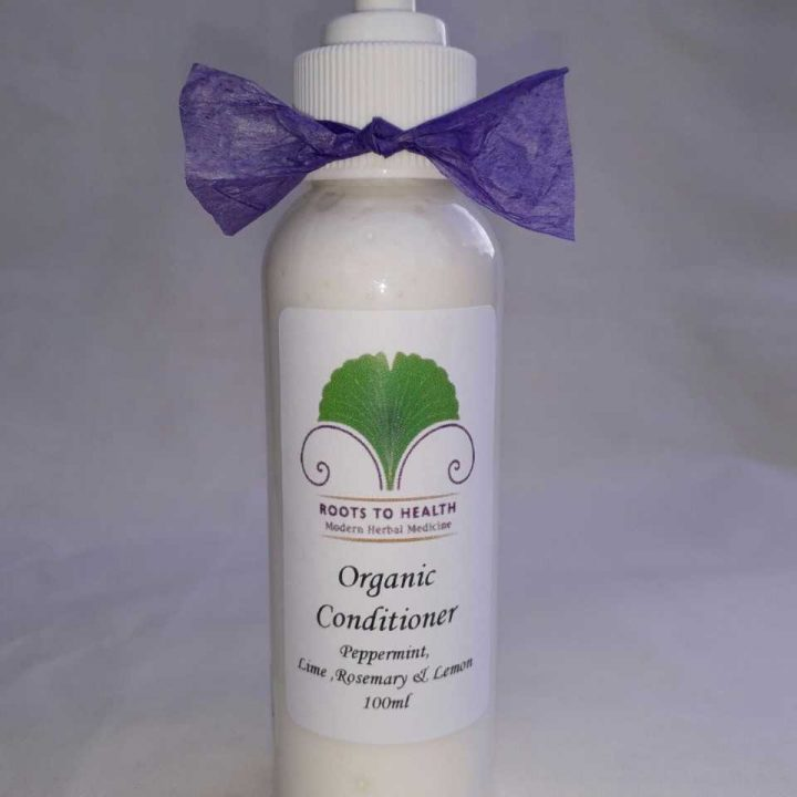 Organic Conditioner - Peppermint, Lime, Rosemary and Lemon