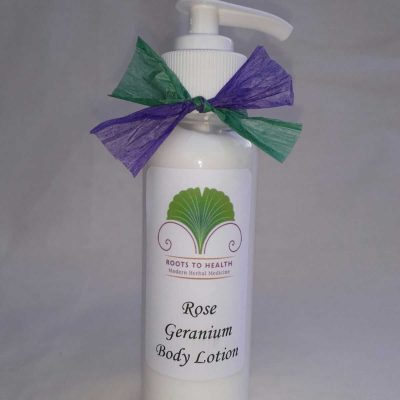 Rose Geranium Lotion